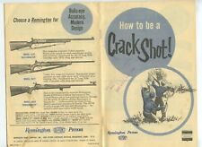 Remington Peters How to be a Crack Shot! 1973 Kautzky Fort Dodge Iowa