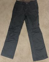 Kuhl Women's Hiking Pants Size 10 Outdoor Hiking Charcoal Gray Cotton Stretch