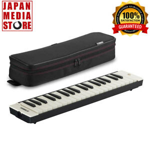 YAMAHA P-37 P-37EBK Black Pianica Wind Keyboard Harmonica 100% Genuine Product