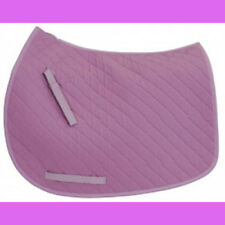 Pony Sized Lilac Hunt Seat English Saddle Pad by Tuffrider NEW