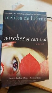Witches of East End 1 by Melissa De la Cruz Signed Advanced Reader Copy Rare