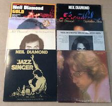 Neil Diamond LP Lot (8) Serenade-September Morn-Gold-Jazz Singer-Beautiful Noise