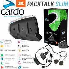 CARDO Headset PACKTALK SLIM 2019 JBL-Sound DMC Interkom bis 15 Leute Einzelset
