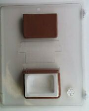 BOOK POUR BOX CLEAR PLASTIC CHOCOLATE CANDY MOLD AO095