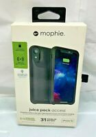 Mophie Juice Pack access External Battery Case for Apple iPhone XR NEW