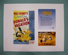 "Disney 11"" x 14"" Donald Duck Vacation Lithograph Print by OSP Publishing"