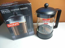 Bodum Brazil French Press Coffee Maker 12-Cup 1.5 L, 51-Ounce Black