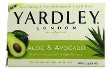 3 Pk Yardley London Moisturizing B 00004000 ar Fresh Aloe With Avocado Essence 4.25oz Each