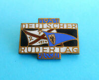 GERMANY ROWING DAY 1951. PASSAU  old enamel pin badge * Rudern anstecknadel FISA