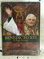 Benoît XVI El Papa Allemand DVD Neuf Scellé Joseph Ratzinger Espagnol Alema