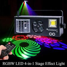 60W Muster LED Projektor RGB Laser Bühnenbeleuchtung DJ Club Party Licht +Remote