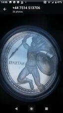 More details for 1 oz silver coin/spartan/warriors/rare/