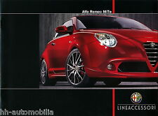 Alfa Romeo MiTo Zubehör Prospekt 5/09 brochure Auto PKWs Italien 2009 Europa