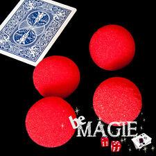 Balles mousse (x4) 1,5 inch GOSHMAN 3,8 cm - tour de magie - éponge