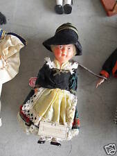 """Old Moll's Celluloid Girl Doll 8"""" Tall w/ Tag Look"""