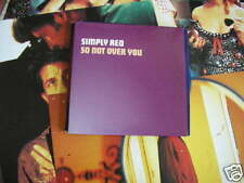 CD Pop simply red tan not Over You Promo simplyred