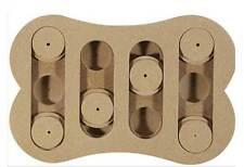 Spot wooden shuffle bone dog IQ puzzle, treat dispensing interactive toys