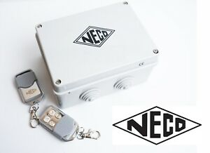 Neco (MK1) Remote Control System for Roller Shutters/Garage Doors + 2 Remotes