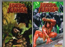 LORD OF THE JUNGLE (TARZAN) TPB #1 & #2 DYNAMITE COMICS NM COMBINES ISSUES 1-15