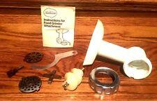 SUNBEAM MIXMASTER FOOD GRINDER ATTACHMENT! #94-341 FITS 150,161& 163 MINT!