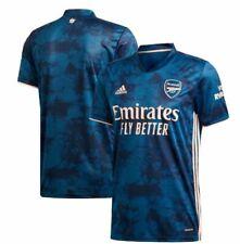 adidas Arsenal FC 2020- 2021 Third Soccer Jersey Brand New Navy Pink
