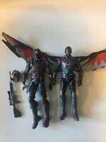Marvel Legends Falcon and Winter Soldier (MCU)(Loose)(Captain America)(Hasbro)