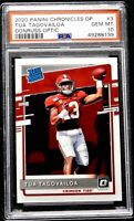 2020 Tua Tagovailoa Rookie PSA 10 GEM MINT Donruss Optic Chronicles #3 Flawless