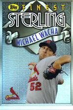 "2014  TOPPS    ""FINEST""   STERLING  #TS-MW  MICHAEL WACHA"
