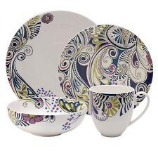 Denby 16 Piece Monsoon Cosmic Dinnerware Set RRP £178