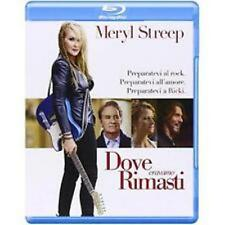 Blu Ray DOVE ERAVAMO RIMASTI - (2015) *** Contenuti Speciali *** ......NUOVO