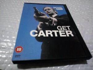 Get Carter (DVD) warner snapper case cardboard snap case Michael Caine