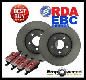 REAR DISC BRAKE ROTORS+PADS Fits Fiat CROMA 1.6L 2.0L 2.0L Turbo 1985-96 RDA7283
