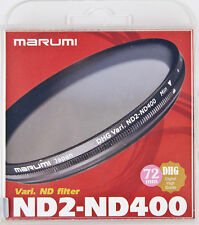 Marumi DHG ND2-ND400 72mm Variable ND Filter