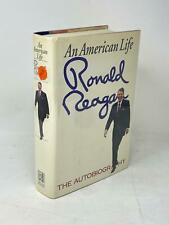 New ListingRonald Reagan Signed Book An American Life President Autograph