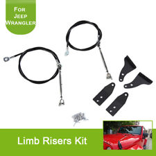 For Jeep Wrangler TJ 1997-2006 Limb Risers Kit Obstacle Eliminate Rope Protector