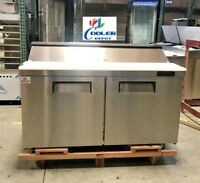 "NEW 60"" Commercial Refrigerator Model KSR60B Sandwich Salad Pizza Prep Table NSF"