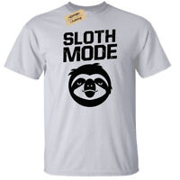 SLOTH MODE Mens T-Shirt S-5XL lazy funny top