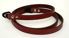 Contax Leather Strap (Red Wine) for RTS, Aria etc  - BRAND NEW