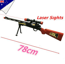Police Toy Gun Battery Weapon Kids Sniper Rifle Children Boys Army Costume M40