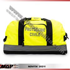 SACCA - BORSA - BORSONE - BORSA VIAGGIO PROTEZIONE CIVILE RIFRANGENTI  GIALLO AV