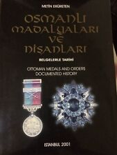 Three Books Gallipoli Star, Gallipoli Stern, Eiserner Halbmond Harp Madalyasi