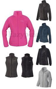 Columbia - Ladies Size XS-XL, 2XL, Benton Springs, Womens Fleece JACKET or VEST