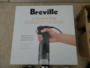 Breville BSB510XL Control Grip Immersion Blender, 280W Stainless Steel. NEW!