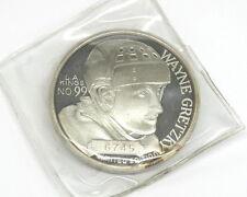 Wayne Gretzky NHL Leading Scorer 1851 Limited Edition 1oz .999 Fine Silver Medal