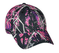 Muddy Girl Womens Ladies Fit Hat Camo Adjustable Cap Hunting Camping Hiking D6