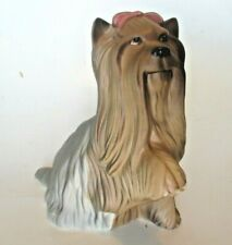 Yorkshire Terrier Beswick England Ceramic Dog Figurine 5 in Royal Doulton Vtg