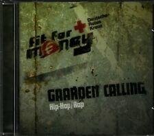 Sampler CD fit for money Gaarden Calling HIP-HOP / RAP Selten Sammler