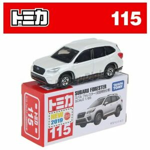 Tomica No 115 - Subaru Forester White