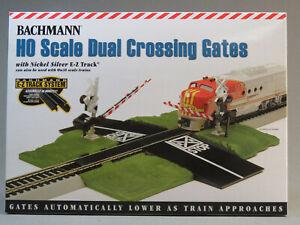 BACHMANN HO SCALE E-Z TRACK TRAIN ROAD CROSSING GATE highway signal BAC44579 NEW