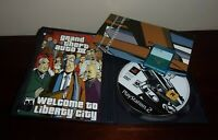 Grand Theft Auto III,3 Playstation PS2 Black Label Complete Map 8 MB Memory Card